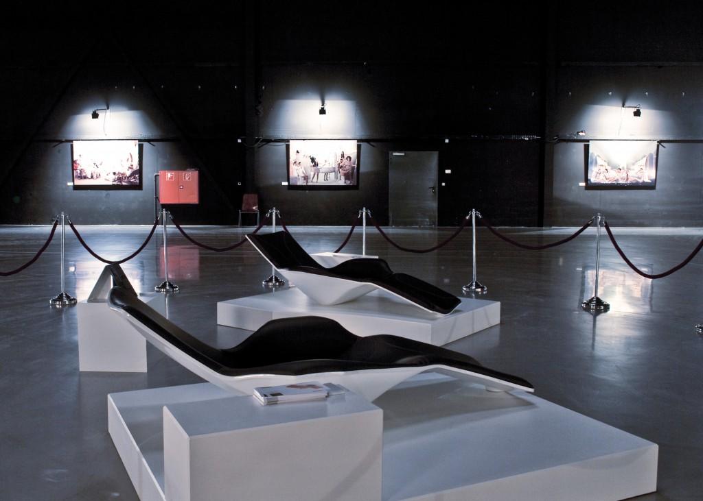 """Präsentation der """"Ray"""" bei der Ausstellung des Fotografen Christoph Rudolf"""
